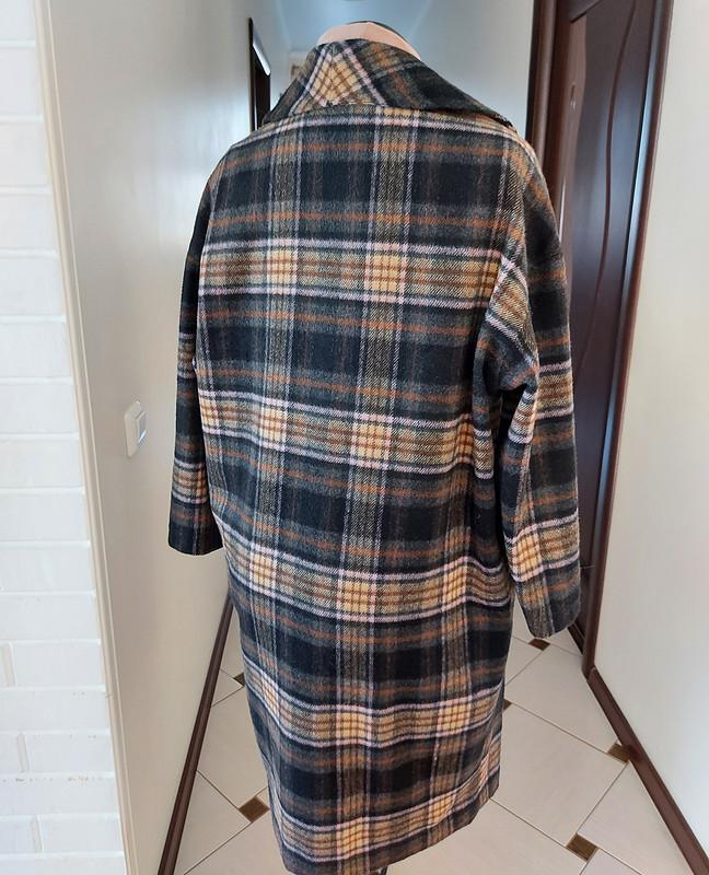 Лёгкое пальто вклетку ипанама от Vassilissa