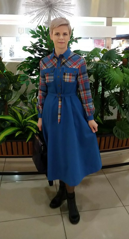 Платье немного преображенное от Наташа