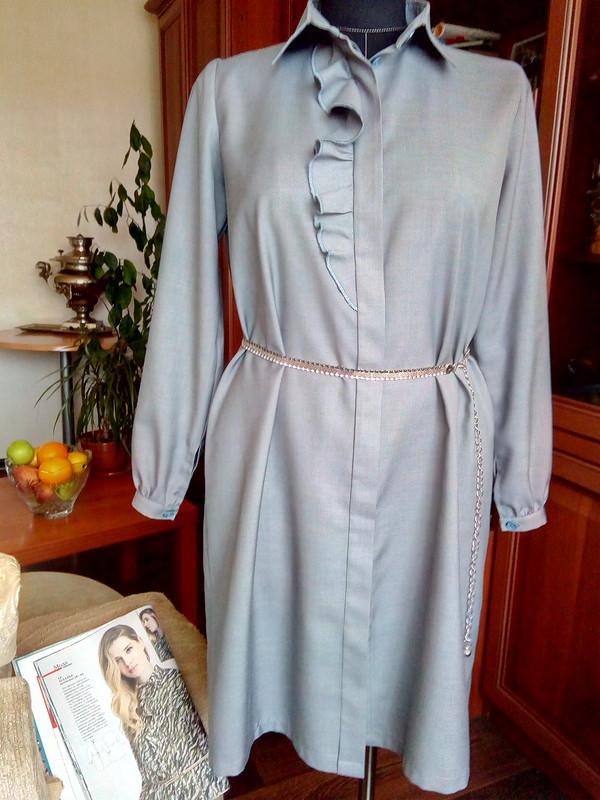 Платье-рубашка от flyma