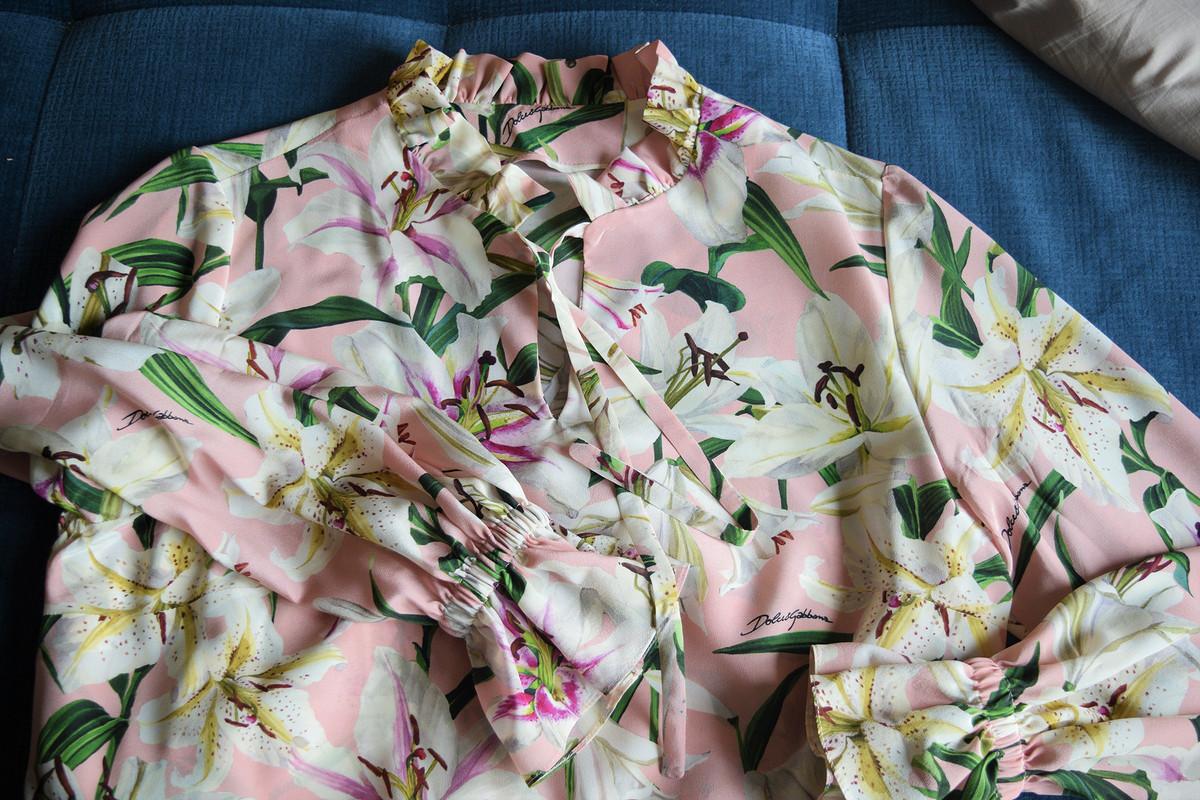 Блузка изшелкового крепдешина от RiRi1990