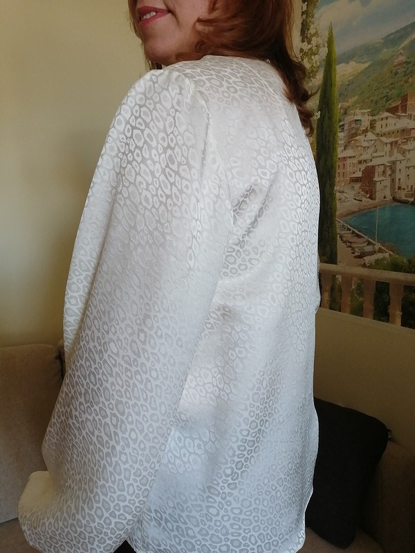 Блузка «Шёлковое молоко» от Sukharenko