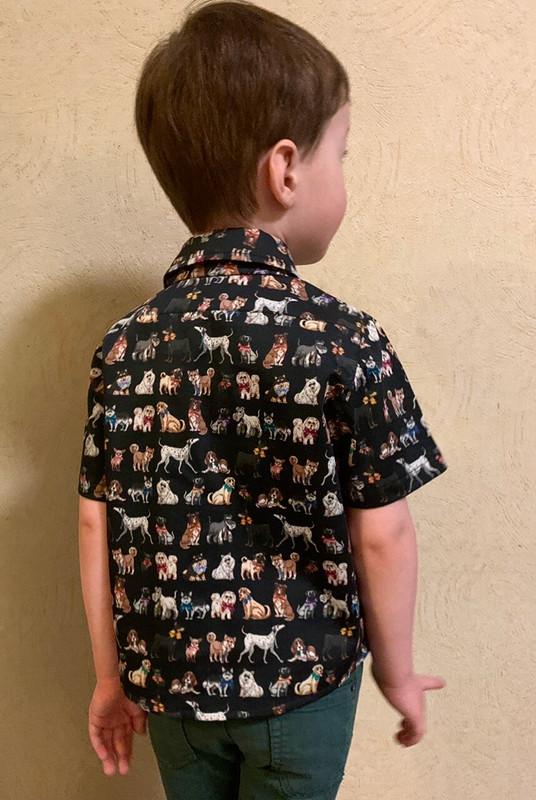 Рубашка длясына от Anna Vidineeva