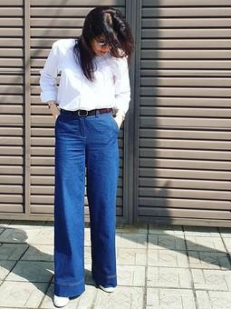Работа с названием Мои новые джинсы