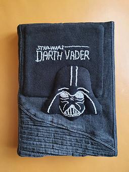 Работа с названием Обложка для книги из джинсы