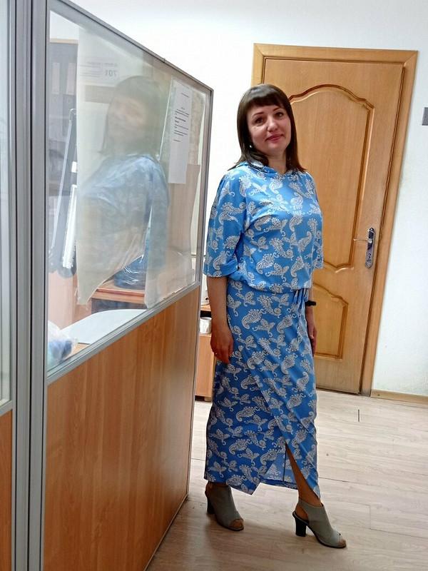 Весенний костюм: блузка июбка от Lirika1972