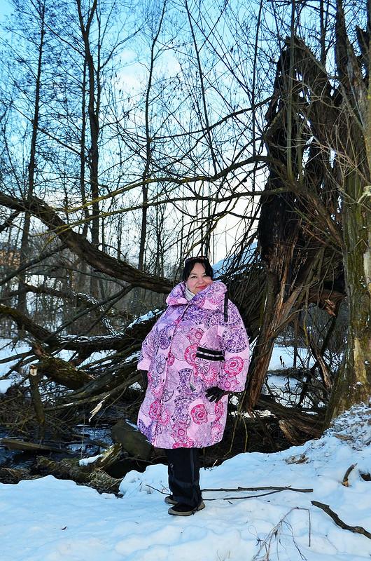 Пальто «Весенний закат» от Verevochca