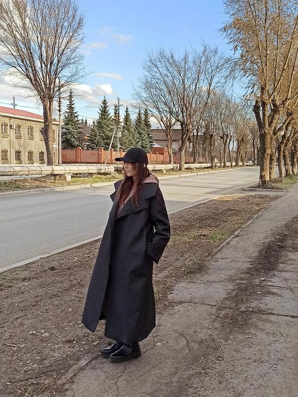 Стеганое пальто от Звонкая_Монетка