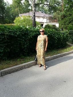 Работа с названием Платье из шифона