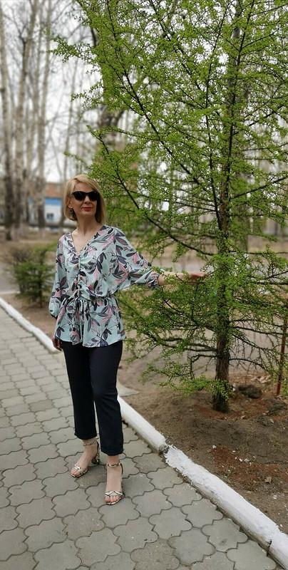 Блузка «Летучая мышь» от larisa_krasnokamensk