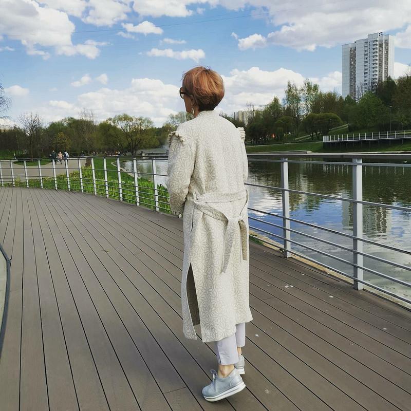 Летнее пальто «Ромашковое настроение» от Джульетта Викторовна