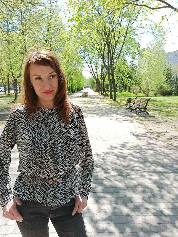 Давняя блузка от Nadi_ka