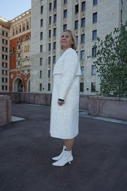 Пуританский тренч от Оксана Георгиевна