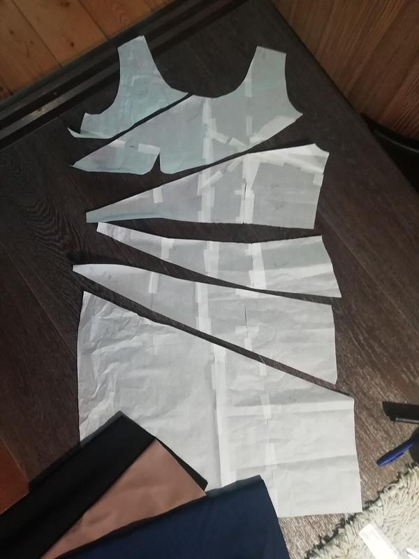 Платье «Кусочки» от пума-78
