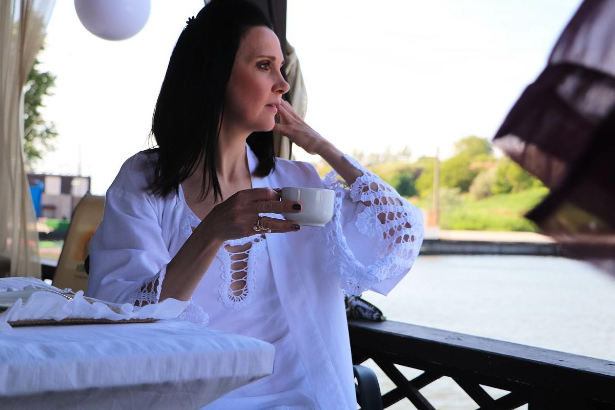 Халат-кимоно иночная рубашка от Ольга Малышко