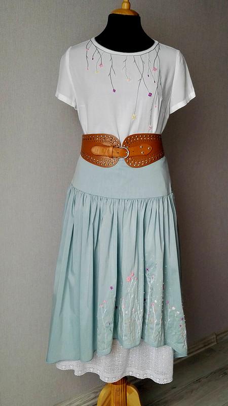 Комплект свышивкой: юбка иблузка от КМ
