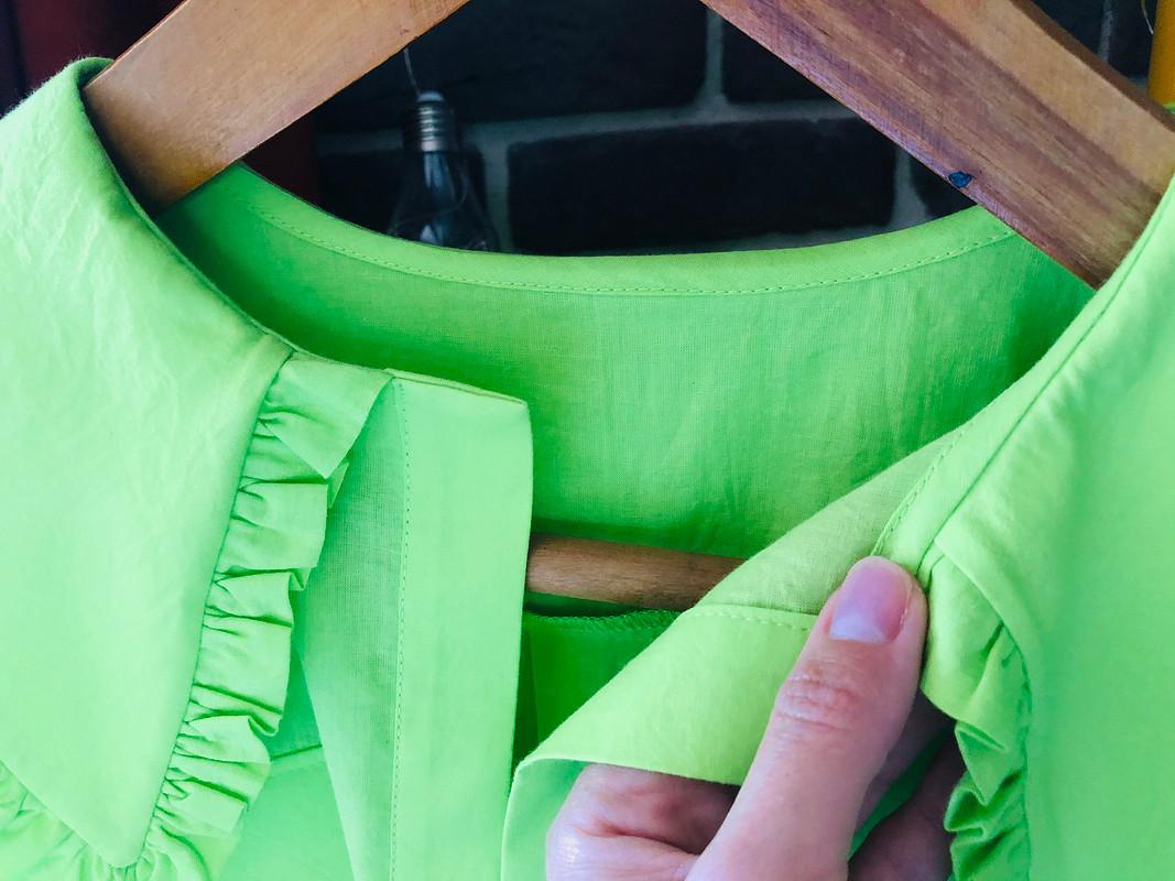 Платье-рубашка сакцентным воротником от Gabi_SML