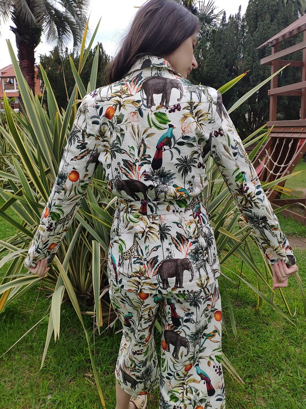 Брючный костюм дляотпуска от Nitka88