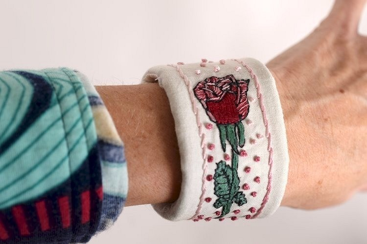 17 интересных способов использования вышивки