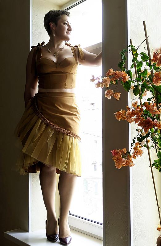 Летний юбочный костюм от niagara.s