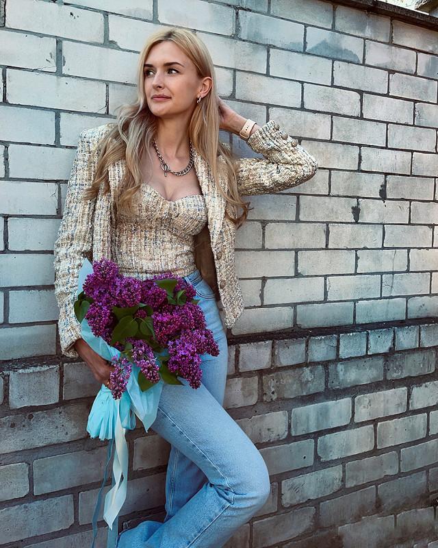 Современная Шанель: жакет ибюстье от @axma_atelier
