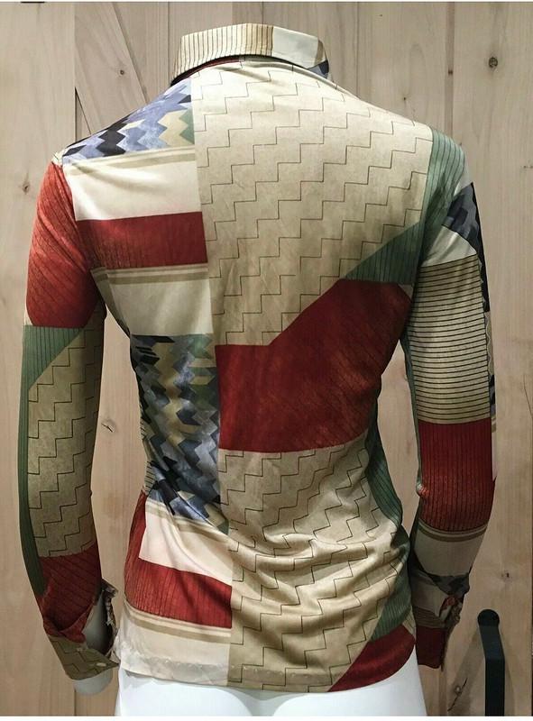 Батник. Рубашка встиле 70-х от Оксана Георгиевна