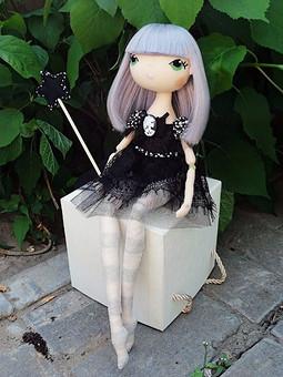 Работа с названием Кукла Фея