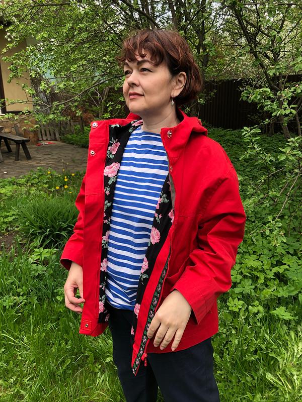 Красная куртка от Zulfiya72