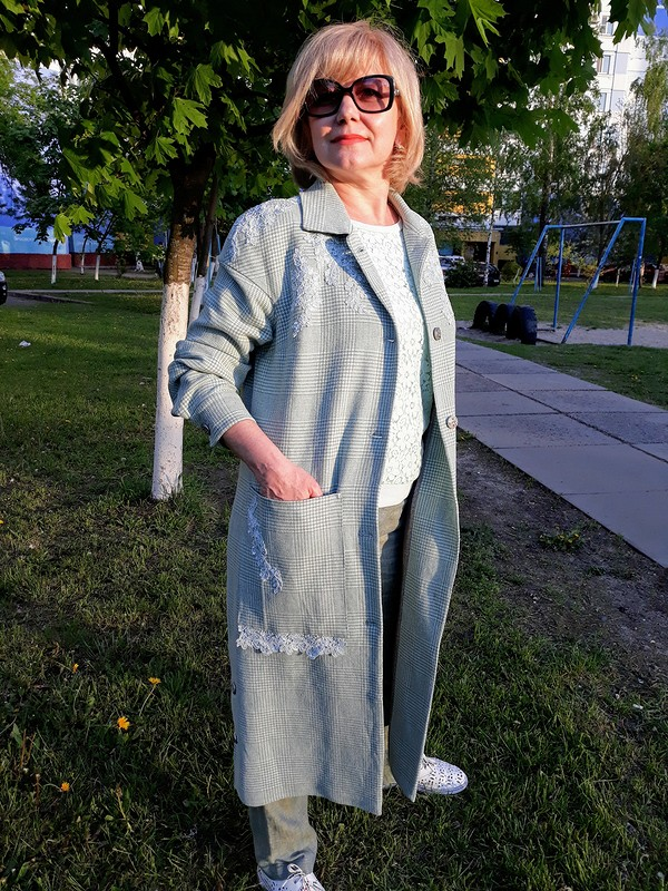 Пальто «Лён икружево» от tatyana turutina
