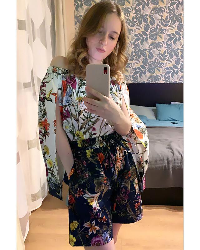 Блузка ишорты от TDarya