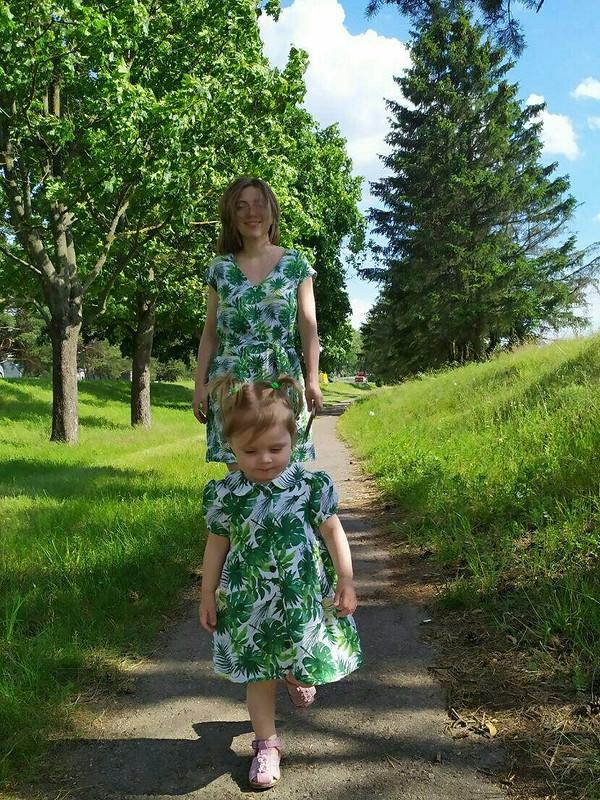 Летнее платье от Nastasia