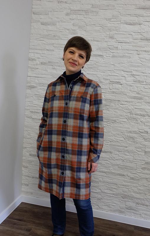 Летнее пальто-рубашка изфланели от I-ri-na