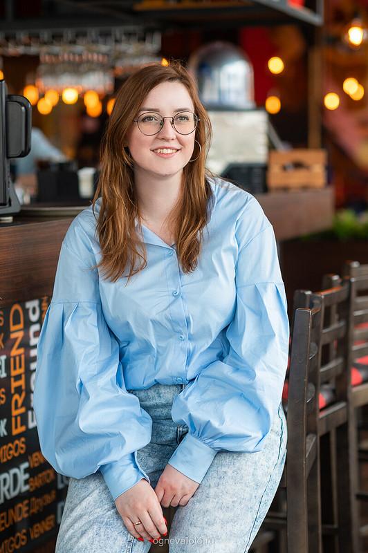 Блузка срукавами от Ксения Огнева