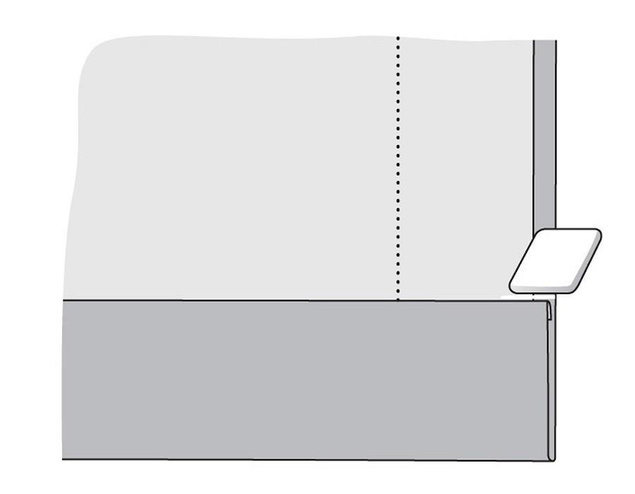 Азы шитья: уголки «конвертом»