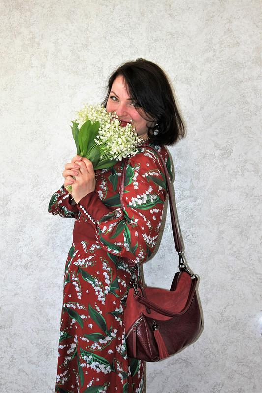 Платье «Ландыши встиле ethno» от -OlgaBird-
