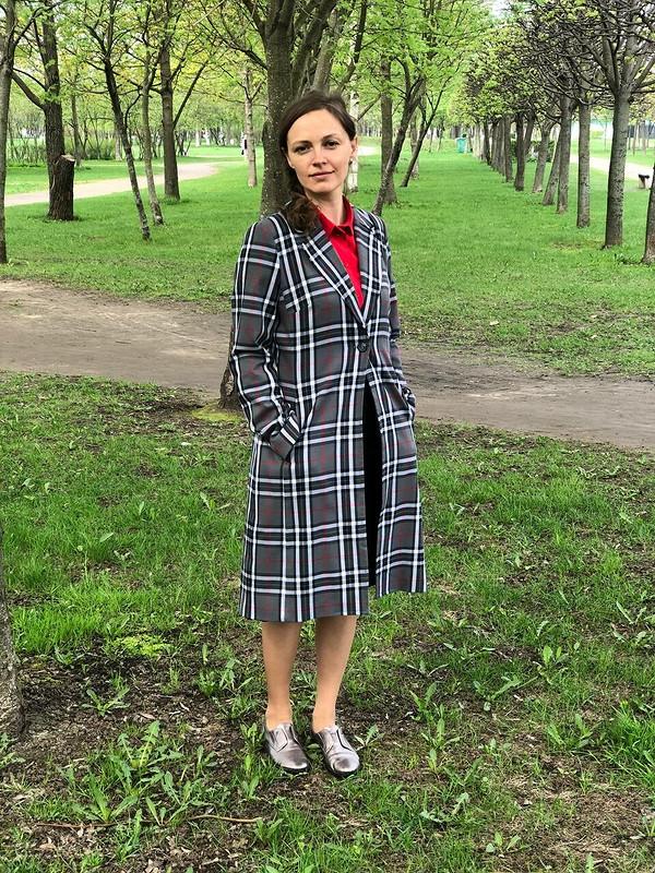 Плащ длядочки от Ольга Ковынева