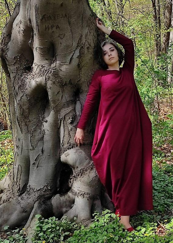Платье вформе ромба от Garpia