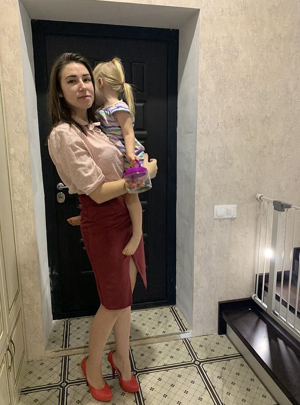 Замшевая юбка Интрига от Дарья