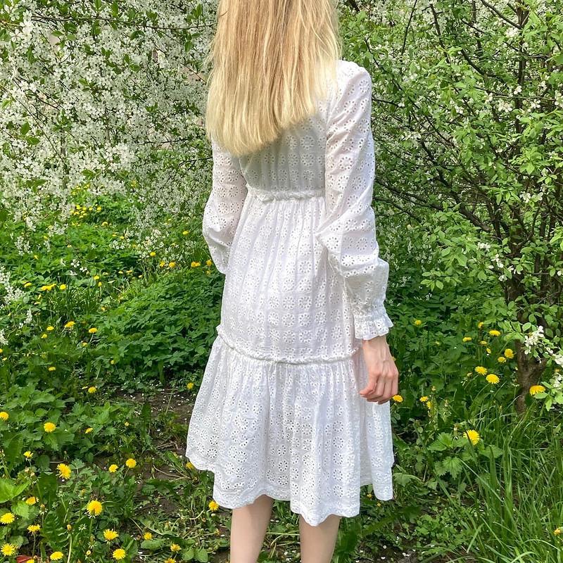 Черемуховое платье от MariykaS