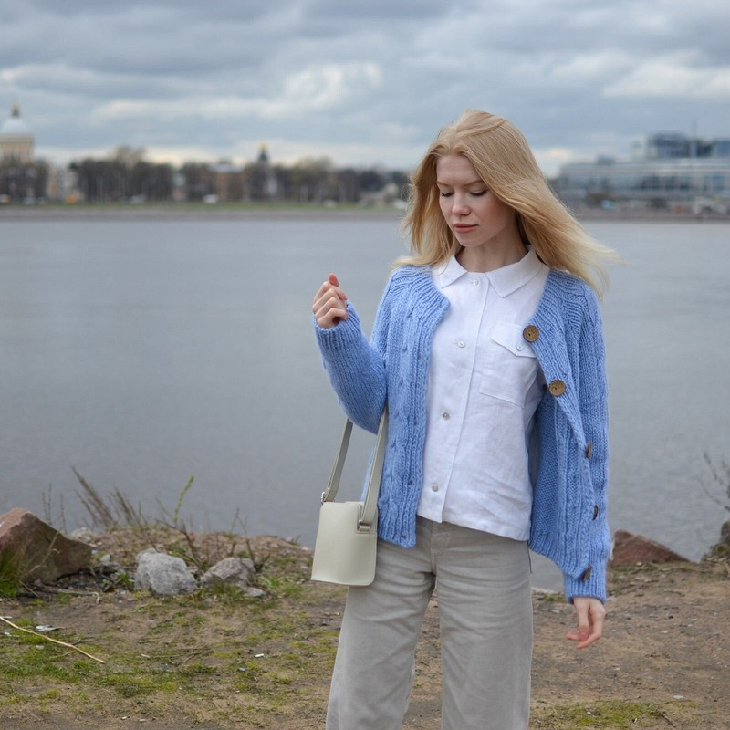 Льняная рубашка от MariykaS