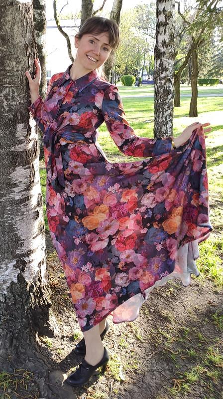 Платье сузлом от Nattaly3