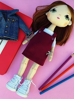 Работа с названием Портретная кукла