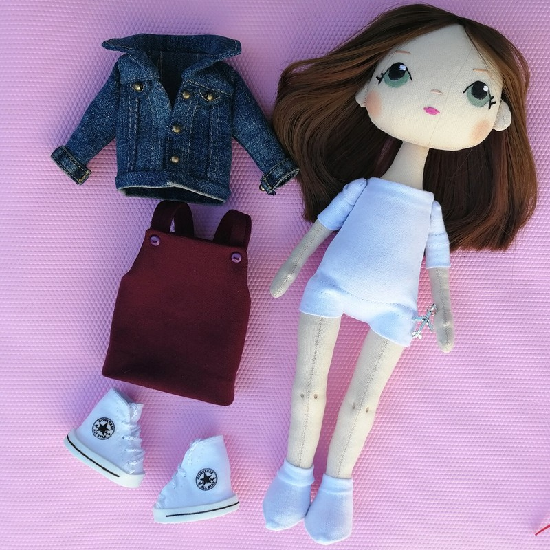 Портретная кукла от @roxydolls