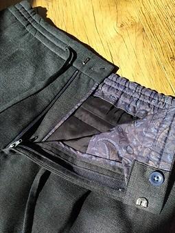 Работа с названием Мужские брюки