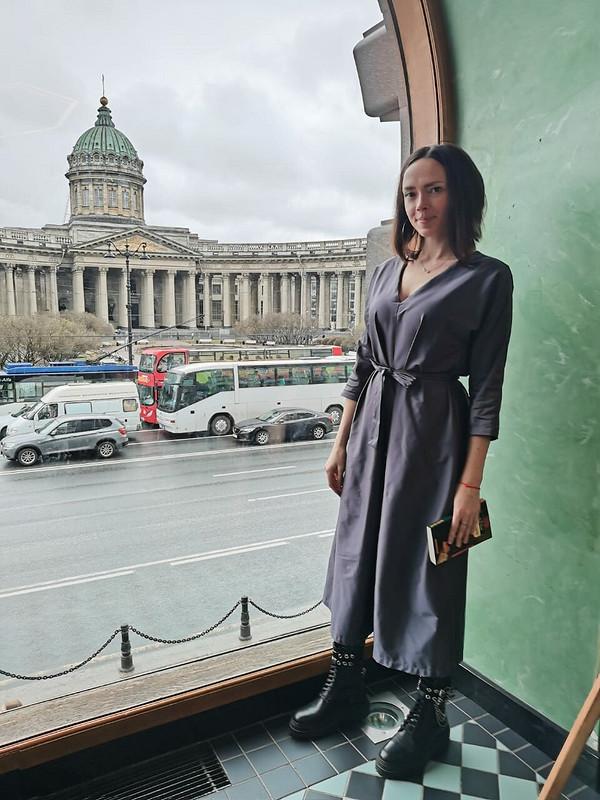 Платье «Графитовое настроение» от Crisport