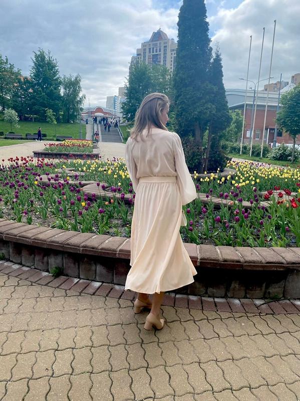 Шелковое платье от Irina_Chi