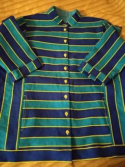 Работа с названием Рубашка-жакет льняная