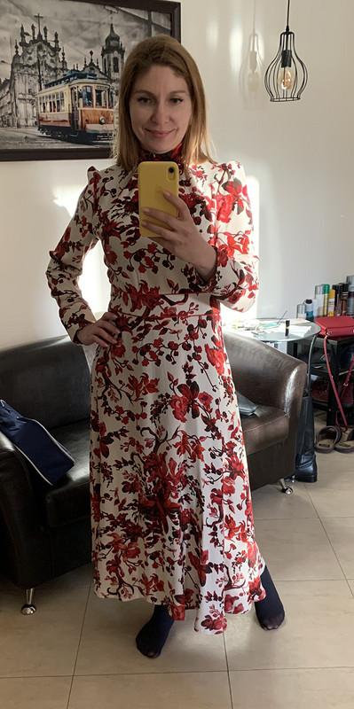 Платье вкрупные цветы от 2970760