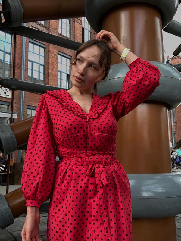Платье изСССР слюбовью от Lyutik