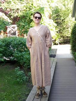 Работа с названием Летнее платье из 100%-го льна