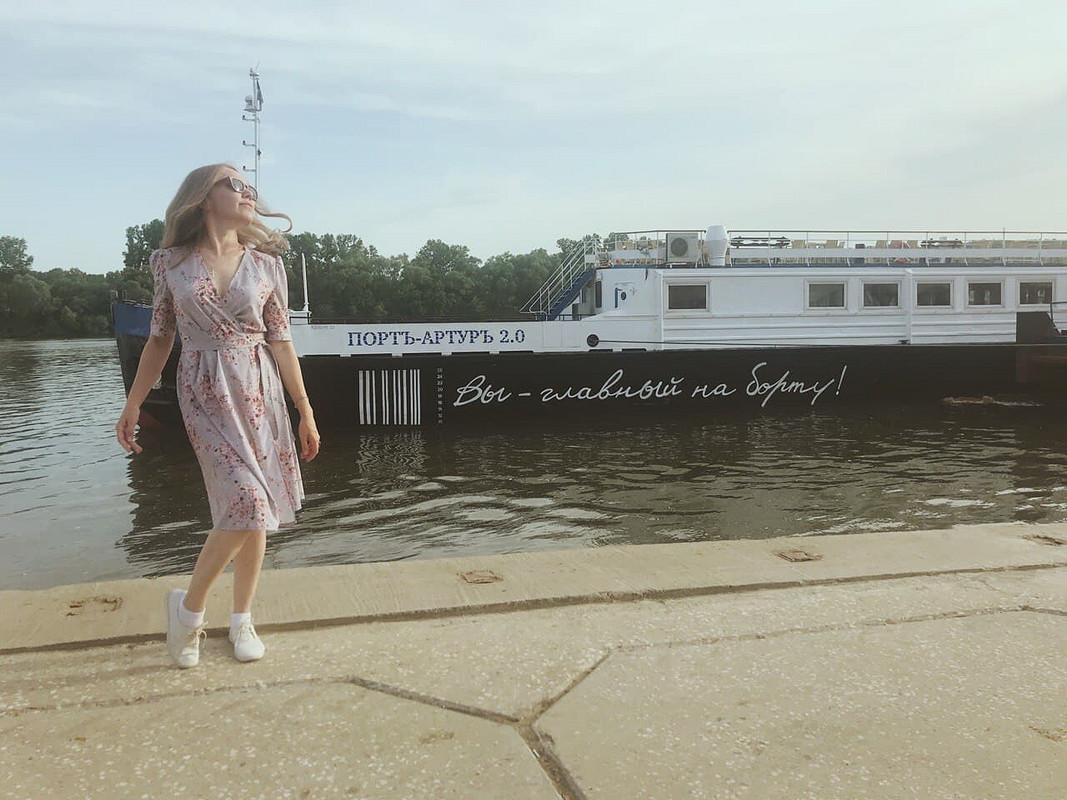Платье сзапахом от Katerina-Caatje